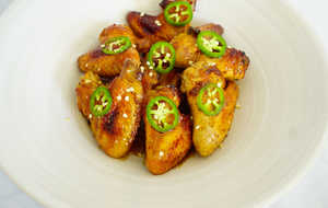 Coca-Cola Glazed Wings