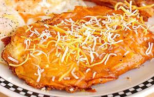 Crispy Cheesy Fried Grits