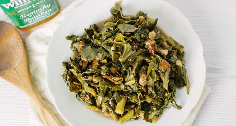 Bourbon Collard Greens