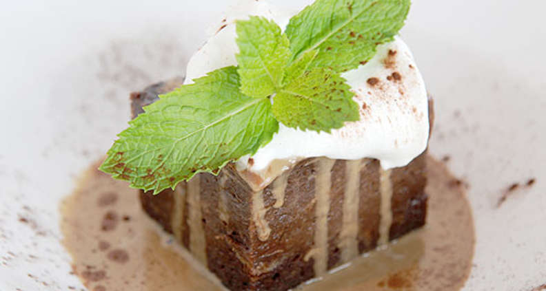 Double Chocolate Bread Pudding