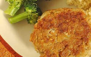 Potato Chip Crab Cakes