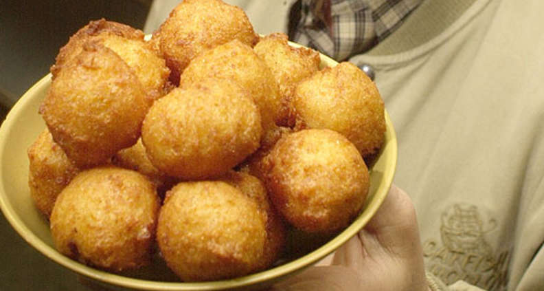 Sweet Corn Hush Puppies