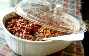Bourbon and Coke Baked Beans