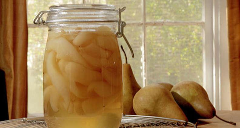 Overnight Pear Preserves