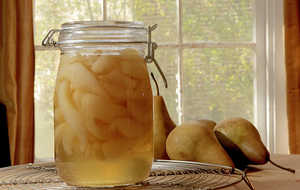 Overnight Pear Preserves
