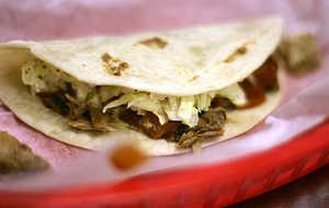 Memphis BBQ Pork Tacos