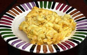 Triple Cheese Macaroni