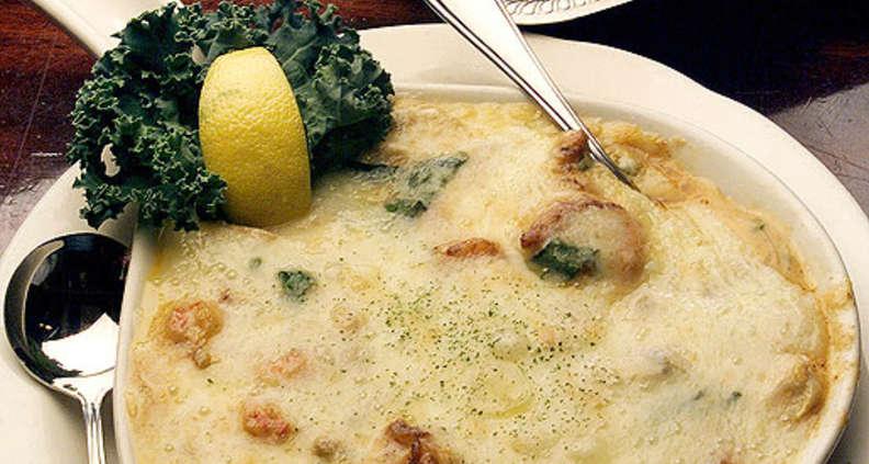 Cheesy Seafood Fondue