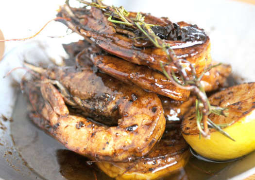 Jumbo Barbecue Shrimp
