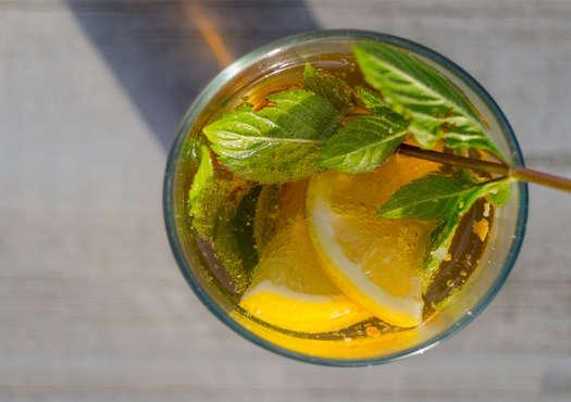 Pineapple Mint Sweet Tea