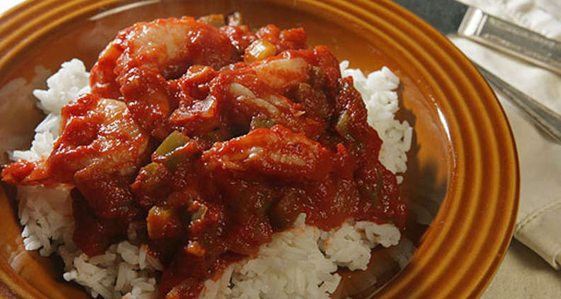 Shrimp Creole With Louisiana Rice