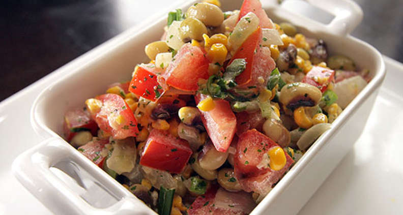 Sweet Corn and Butterbean Succotash