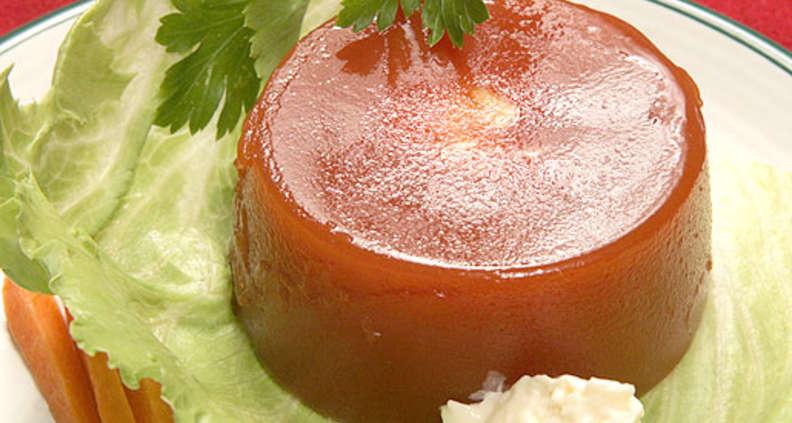 Southern Tomato Aspic Salad