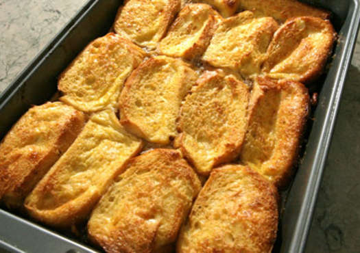 Vermont Baked Pecan French Toast