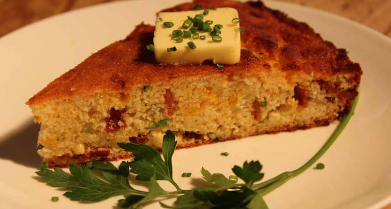 Loaded Cornbread With Bacon