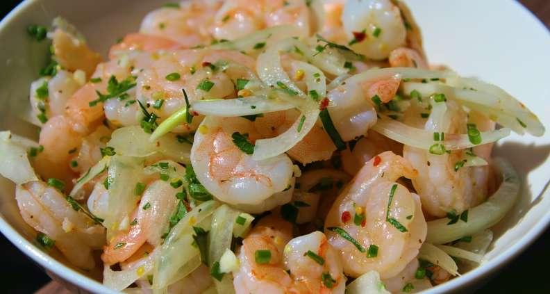 Pickled Shrimp Salad
