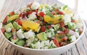 Yucatan-Style Ceviche with Avocado