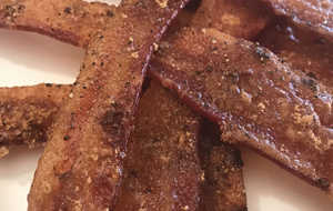 Sweet and Spicy Smoked Bacon
