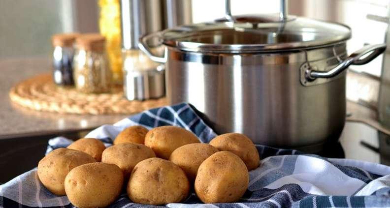 Cheesy Skillet Potato Casserole