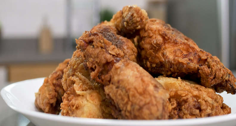 southern cast iron fried chicken southern kitchen
