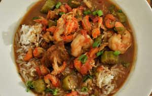 Shrimp and Crawfish Etouffee