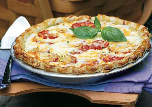 Anne Byrn's Homegrown Tomato Pie