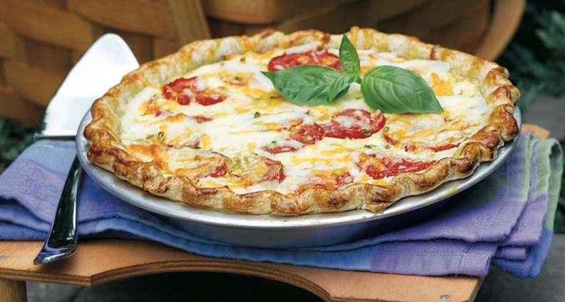Anne Byrn's Homegrown Tomato Pie