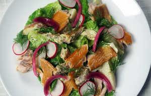 Trout salad by lauren