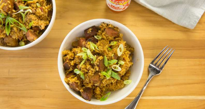 One-Pot Chicken and Sausage Jambalaya