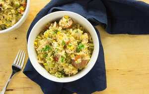 One-Pot Carolina Chicken Bog