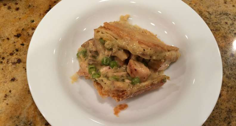 Easy Grilled Chicken Pot Pie