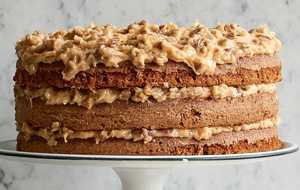 Anne Byrn's German Chocolate Cake