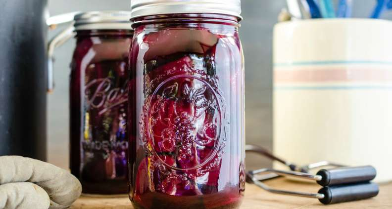 Virginia Willis' Ginger Pickled Beets