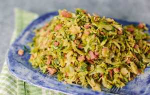 Brussels Sprouts with Country Ham