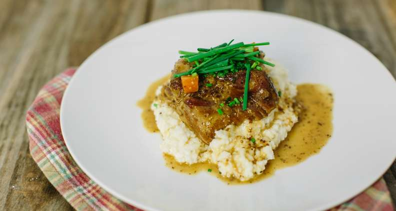 Cider-Braised Pork Shoulder