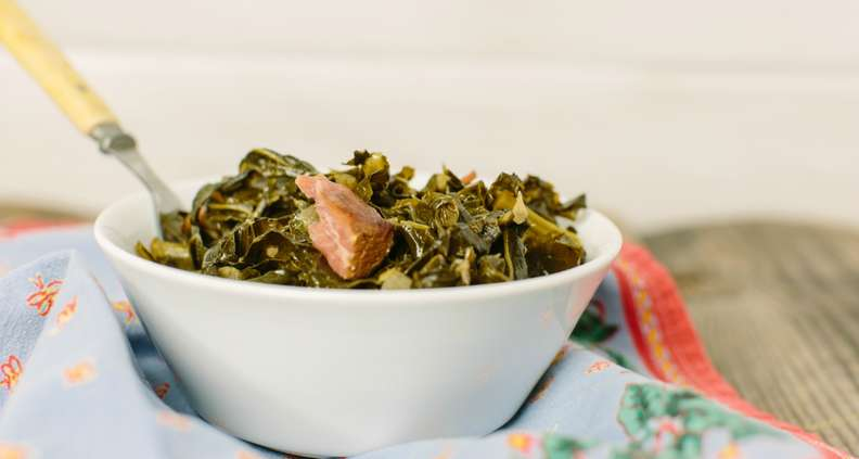 Sweet and Spicy Collard Greens