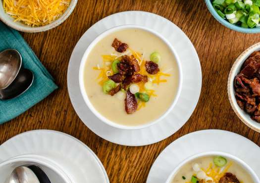 Baked potato soup