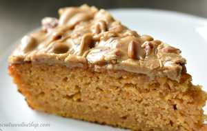 Sweet Potato Cake with Pecan Praline Icing