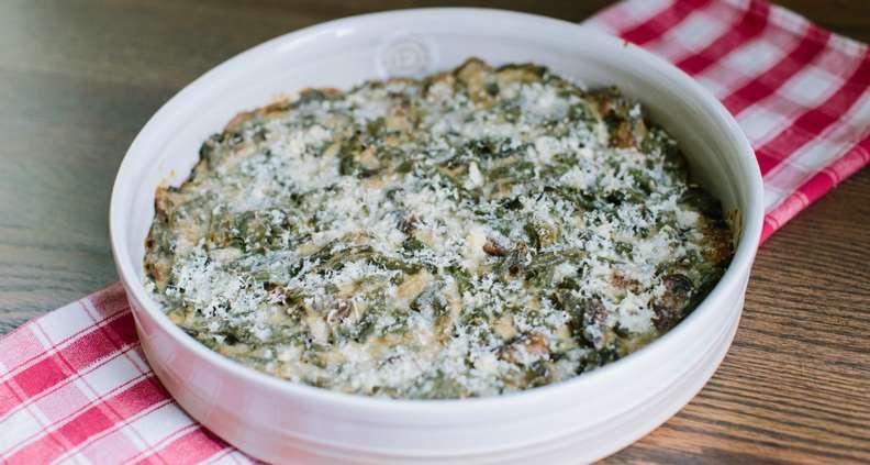 Mom's homemade green bean casserole