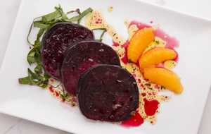 Roasted Beets and Orange Supreme Salad