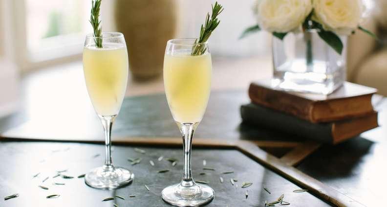 Vesper-style Mimosas