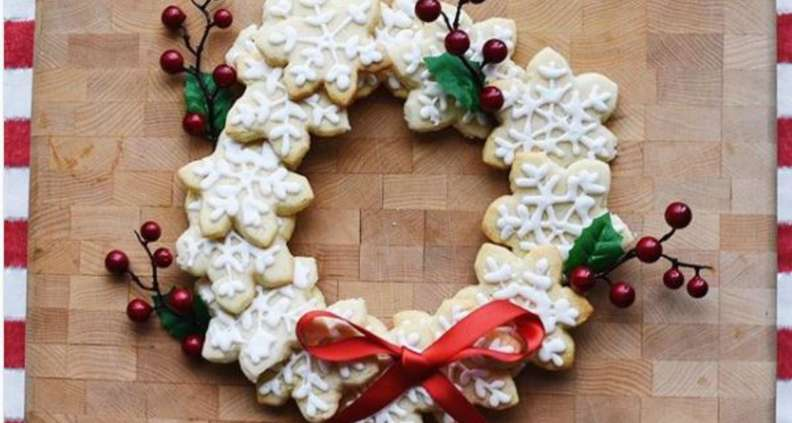 Christmas Cookie Icing.Butter Sugar Cookies With Royal Icing