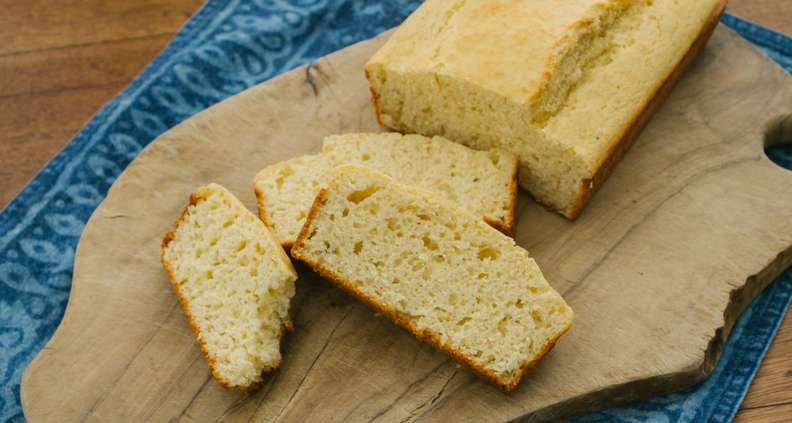 Savory Corn Light Bread