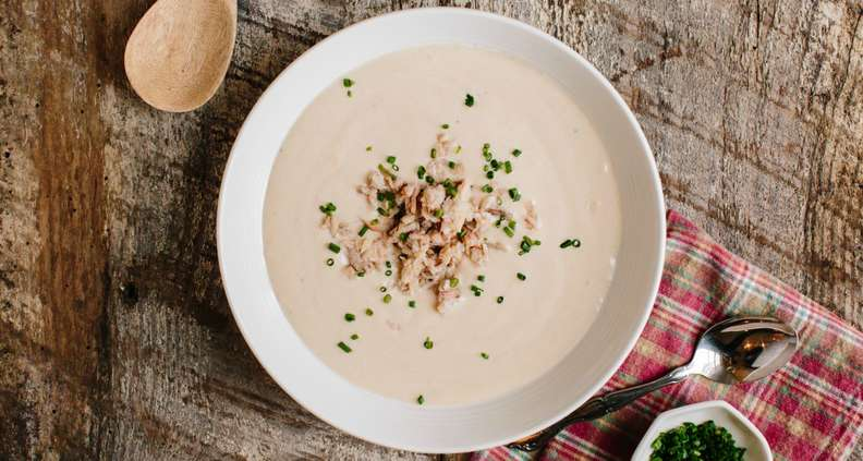 Slow Cooker She Crab Soup