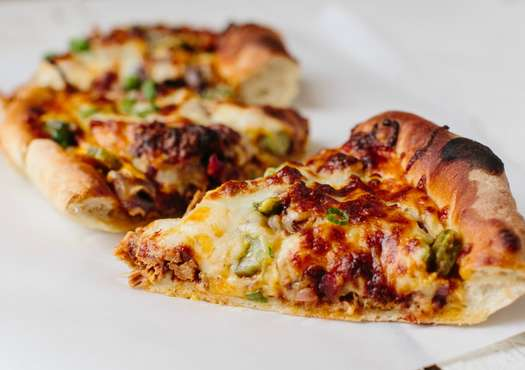 Cast Iron Barbecue Pork Pizza