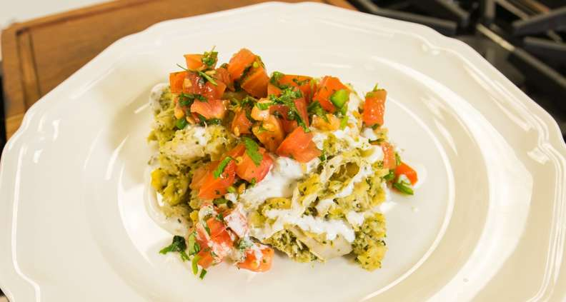 Roasted Chicken Chilaquiles