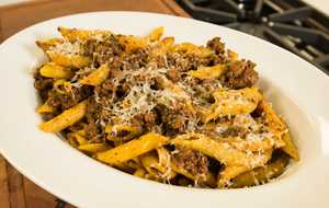 Chicken Bolognese with Penne