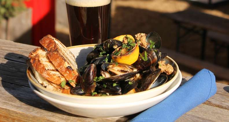 Cadence Mussels from Ladybird Grove and Mess Hall