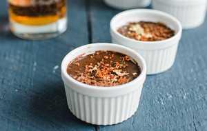 Bourbon Chocolate Pot de Creme