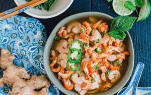 Shrimp and Crawfish Pho